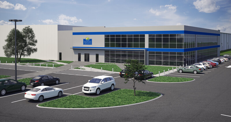 Great Lakes Cheese Hiram Plant Expansion rendering